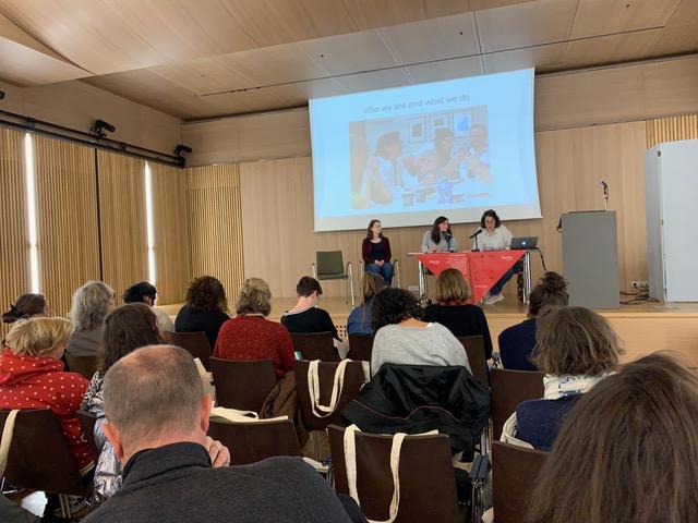 Workshop Nantes - Lorena Palomar presenting